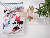 Постельное белье TAC Disney MINNIE MOUSE WATER евро