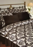 Постельное белье Tivolyo Home Pierre black евро