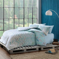 Постельное белье Linens Flexa blue евро