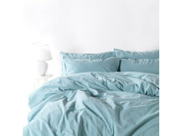 Постельное белье SoundSleep Stonewash Adriatic pastel mint евро