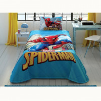 Покрывало Tac Disney Spiderman Classic 160x220 см + наволочка 50x70 см