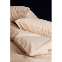 Простынь SoundSleep Dyed Beige ранфорс 200х220 см